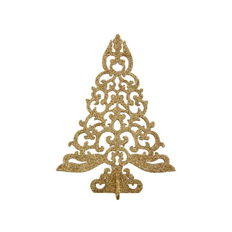 D co de table de no l sapin brillant decoration de noel - Decoration table noel pas cher ...