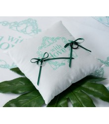 "Coussin d'Alliance ""With Love"""