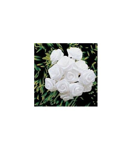 Mini bouquet de roses décoratives pour mariage