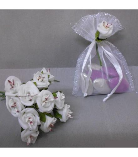 Fleur pour Déco Dragées : Rose Pistils