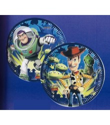 10 Assiettes jetables carton Toy Story