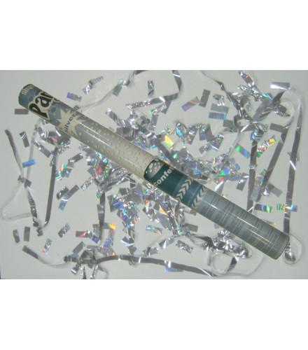 Canon à Confettis Argent (60 cm)