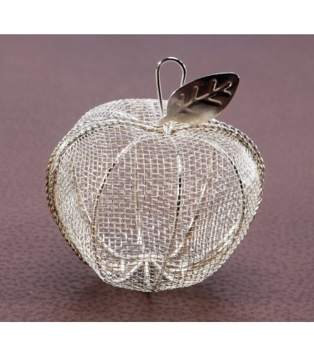 pomme drages filigranes argent - Contenant Dragee Mariage