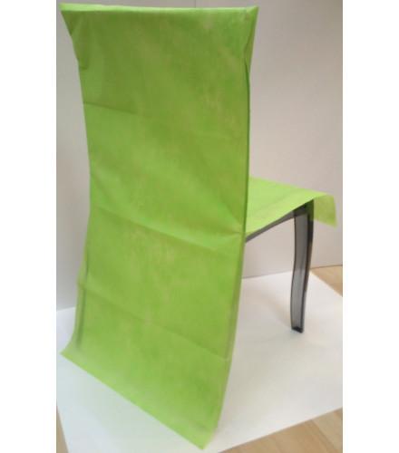 10 housses de chaise mariage colorées en intissé