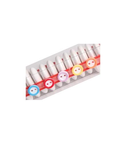 Sachet de 60 Boutons Multicolores
