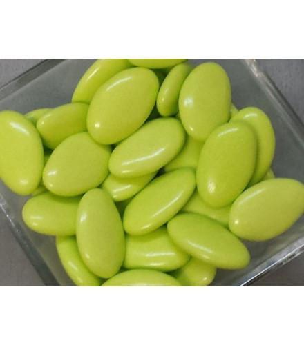 Dragées chocolat pas cher vert anis – 1 kilo