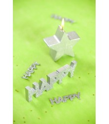 "Lettres Brillantes ""Happy"""