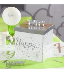 "Tirelire Mariage ""Happy"""
