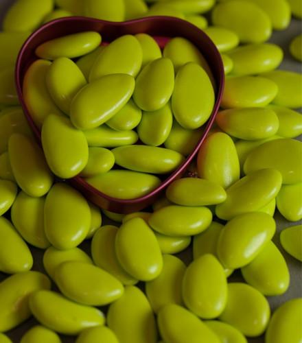Dragées Avola Reynaud impériale vert anis – 1 kilo
