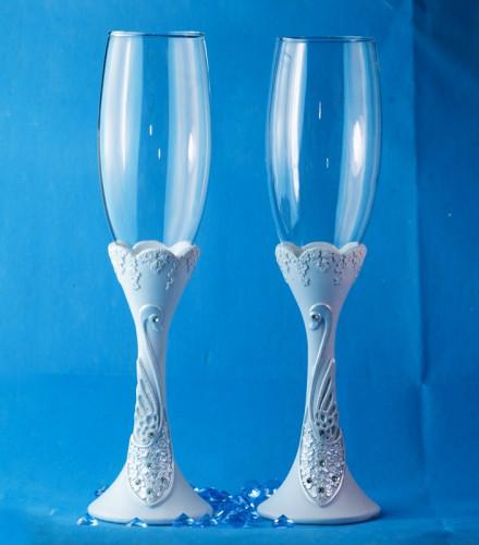 Set Flûtes à Champagne Cygnes