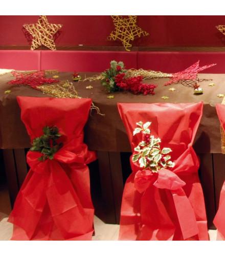 Nappe Rectangulaire 150 x 300 cm Chocolat