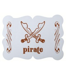 Set de table Pirate