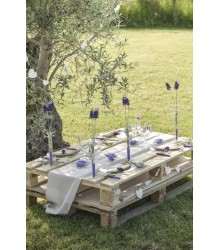 Chemin de table coton couleur naturelle