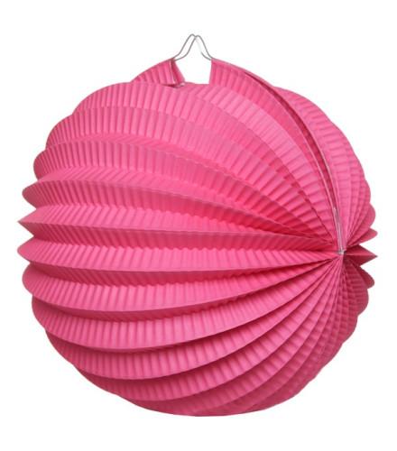 Suspension boule accordéon papier coloré