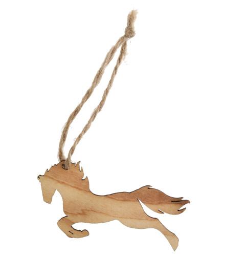 Marque-places de fête en forme de cheval