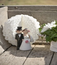 Figurine de mariage Mr & Mrs