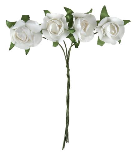 Roses en papier pour mariage