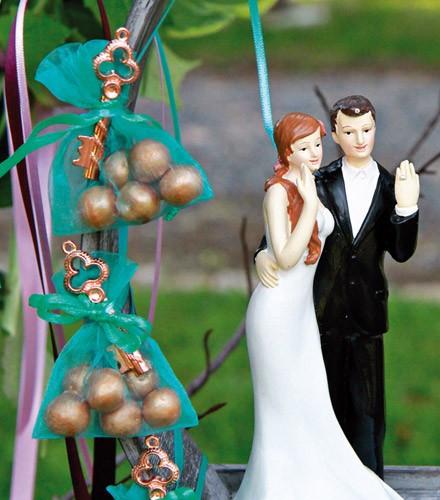 Sachet à dragées mariage