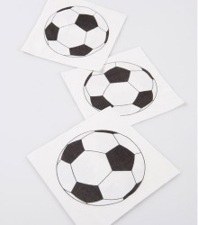 Serviettes de table anniversaire foot