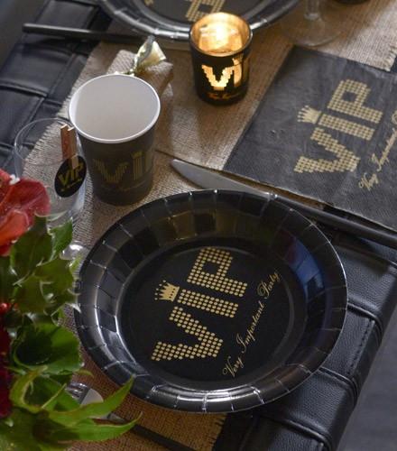 Assiettes jetables pas chères VIP
