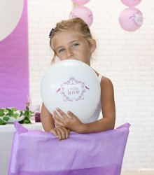"Ballon Mariage ""With Love"""