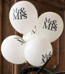 Ballon Mr & Mrs