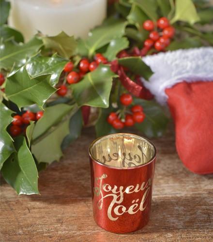 Photophore tendance Joyeux Noël