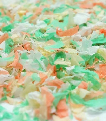 Sachet de confettis 50 g fête menthe