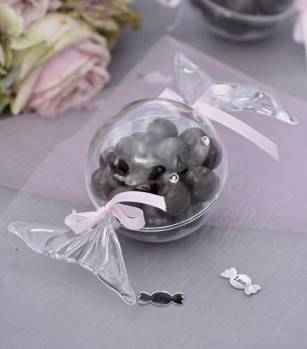 Boîte à dragées bonbon