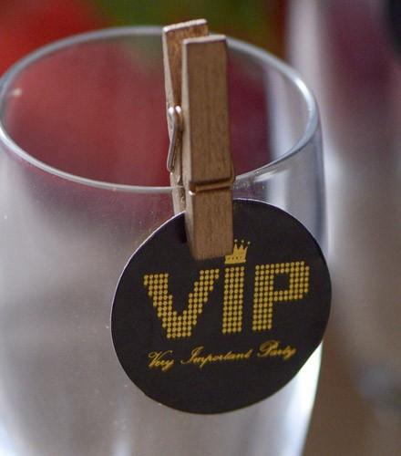 Confettis VIP déco