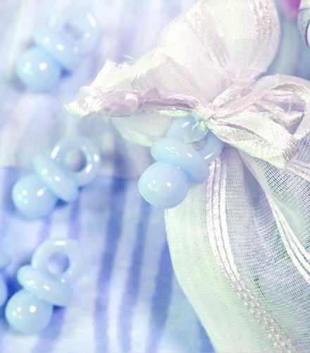 Confettis de table tétine ciel