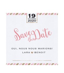 Save the date tendance VIP