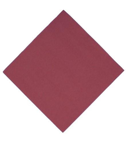 Serviette en papier unie colorée à points