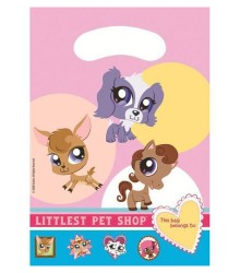 Sac Cadeau Imprimé Littlest Pet Shop