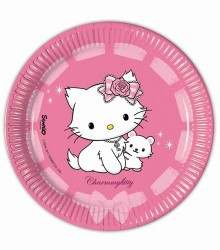 Assiettes jetables anniversaire Charmmy Kitty
