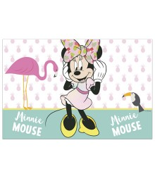 nappe jetable rectangulaire en plastique Minnie