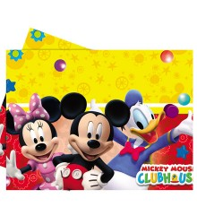 Nappe jetable rectangulaire en plastique Mickey