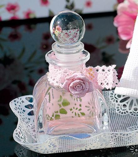 Pot à dragées verre forme fiole