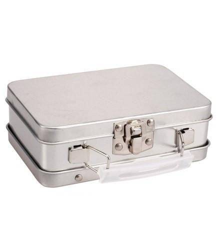 Boîte à dragées originale valise en zinc