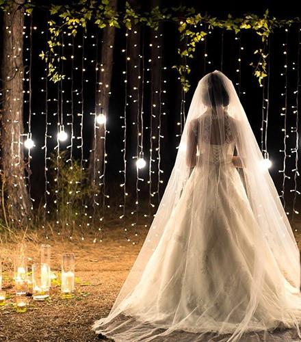 Guirlande lumineuse leds blanches 10 m