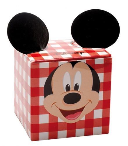 10 boîtes à dragées carton Mickey forme cube