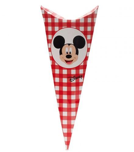 10 cornets à dragées carton Mickey