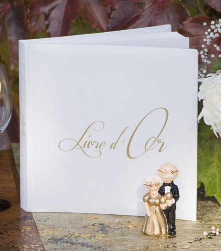 """Livre d'or mariage imprimé """"Livre d'Or"""""""