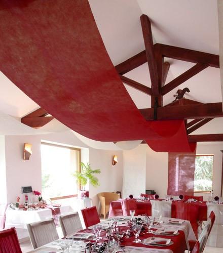 Tenture jetable colorée pour plafond en tissu intissé 10 m