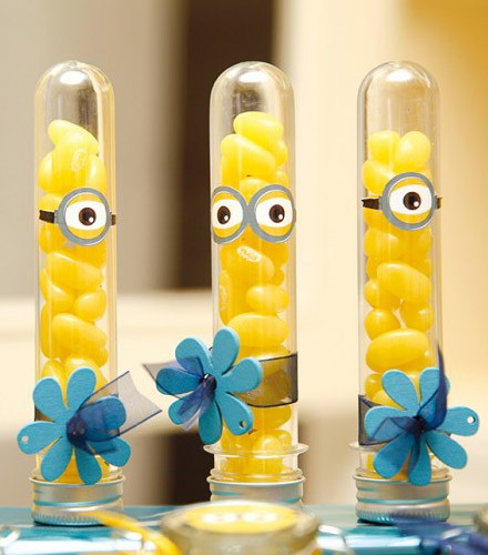 10 éprouvettes à dragées 14 cm en verre