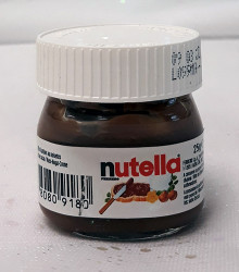 Mini pot Nutella ® en verre 25g