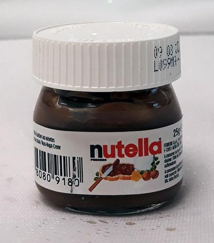 Mini pot Nutella ® en verre 25g