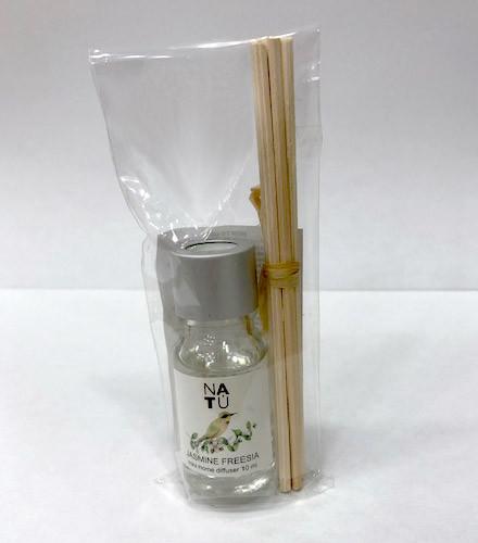 Diffuseur à parfum jasmin 10ml avec bâtons