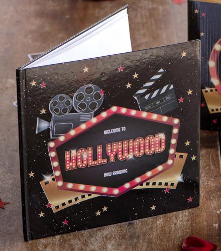 Livre d'or original Hollywood noir