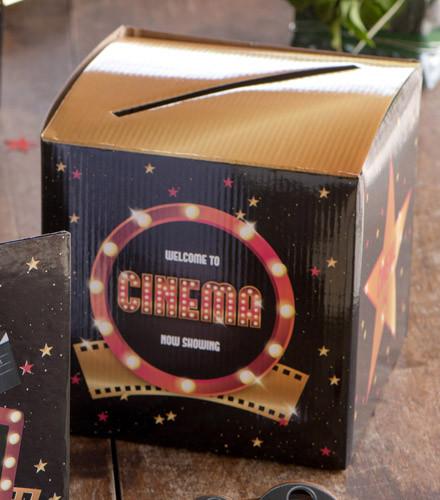 Tirelire originale Hollywood carton